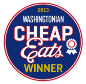 Cheap Eats Badge 2013