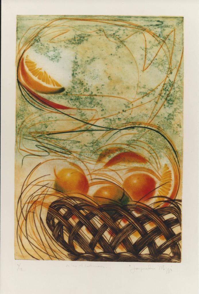 Naranja - Jacqueline Maggi